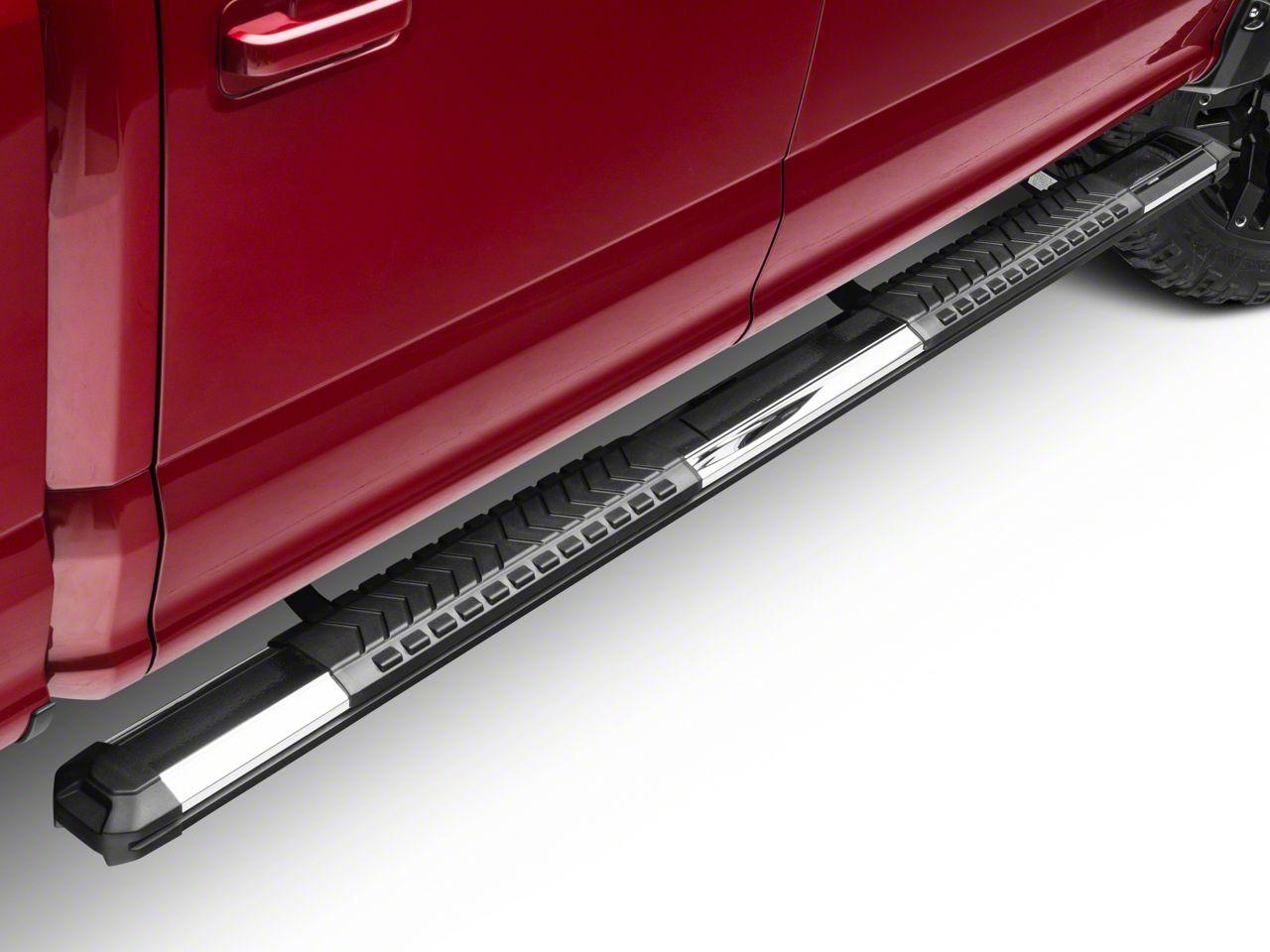 Black Horse Off Road Cutlass Running Boards - Aluminum (15-19 F-150 SuperCab, SuperCrew)