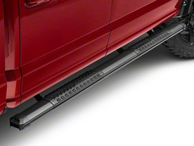 Black Horse Off Road Cutlass Running Boards - Black (15-19 F-150 SuperCab, SuperCrew)