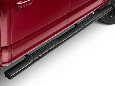 Black Horse Off Road Summit Running Boards - Black (15-19 F-150 SuperCab, SuperCrew)