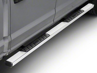 Black Horse Off Road Summit Running Boards - Stainless Steel (15-19 F-150 SuperCab, SuperCrew)