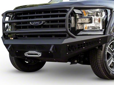 Addictive Desert Designs HoneyBadger Rancher Front Bumper w/ Winch Mount (15-17 3.5L V6, 5.0L F-150)