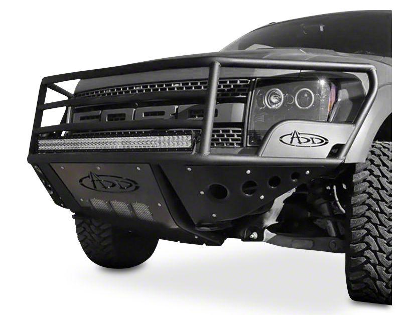 Addictive Desert Designs Rancher Front Bumper w/ Stealth Panels (10-14 F-150 Raptor)