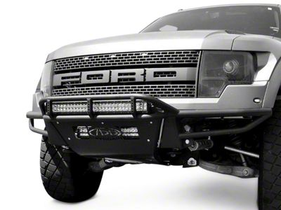Addictive Desert Designs Race Series Front Bumper w/ Stealth Panels & Winch Mount (10-14 F-150 Raptor)
