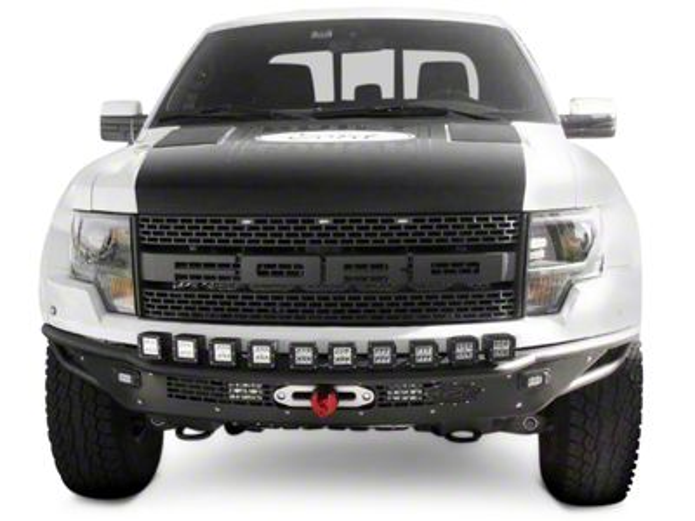 Addictive Desert Designs Race Series R Front Bumper w/ Aluminum Valance & Winch Mount (10-14 F-150 Raptor)