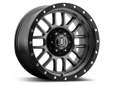 ICON Vehicle Dynamics Alpha Gunmetal 6-Lug Wheel - 17x8.5 (04-18 F-150)
