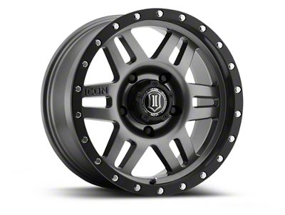 ICON Vehicle Dynamics Six Speed Gunmetal 6-Lug Wheel - 17x8.5 (04-18 F-150)