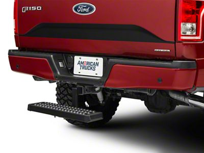 R3 Recovery Aluminum 6 in. Drop Hitch Step for 2 in. Receiver - Black (97-19 F-150)