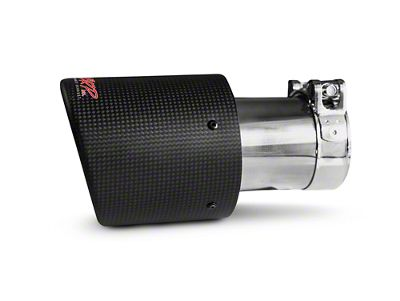 MBRP 4 in. Exhaust Tip - Carbon Fiber - 3 in. Connection (97-19 F-150)