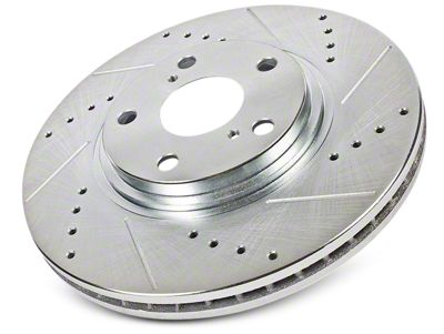 Power Stop Evolution Cross-Drilled & Slotted 6-Lug Rotors - Front Pair (09-19 2WD/4WD F-150)