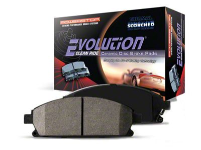 Power Stop Z16 Evolution Clean Ride Ceramic Brake Pads - Front Pair (04-08 2WD/4WD F-150)