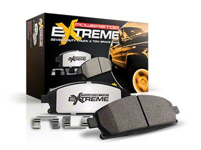 Power Stop Z36 Extreme Truck & Tow Carbon-Ceramic Brake Pads - Front Pair (04-08 2WD/4WD F-150)