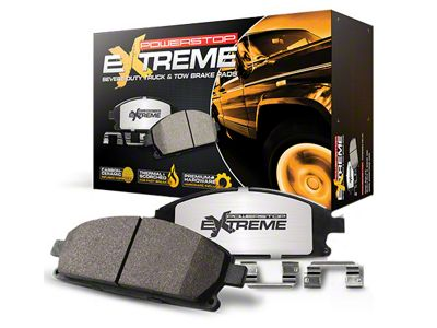 Power Stop Z36 Extreme Truck & Tow Carbon-Ceramic Brake Pads - Front Pair (10-19 2WD/4WD F-150)