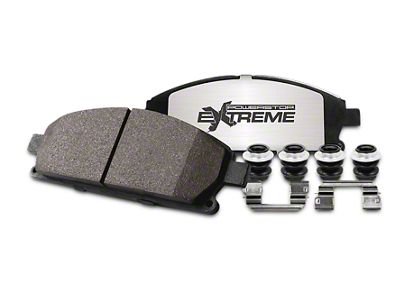 Power Stop Z36 Extreme Truck & Tow Carbon-Ceramic Brake Pads - Rear Pair (04-18 2WD/4WD F-150)