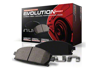 Power Stop Z23 Evolution Sport Ceramic Brake Pads - Rear Pair (99-03 F-150 Lightning; Late 00-03 F-150 5 or 7-Lug w/ Rear Disc Brakes)