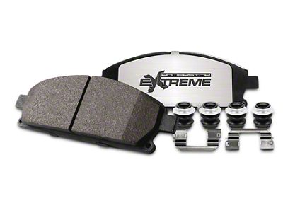 Power Stop Z36 Extreme Truck & Tow Carbon-Ceramic Brake Pads - Front Pair (97-03 F-150)