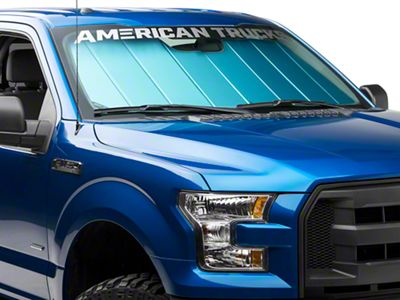 Covercraft UVS100 Custom Sunscreen - Blue (15-19 F-150)