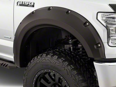 Bushwacker Max Coverage Pocket Style Fender Flares (15-17 F-150, Excluding Raptor)