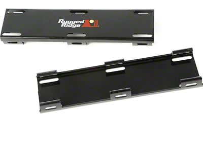 Rugged Ridge 20 in. LED Light Bar Cover Kit - Black