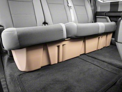 DU-HA Underseat Storage - Tan (15-19 F-150 SuperCab, SuperCrew)