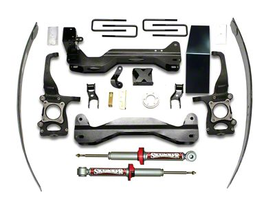 SkyJacker 4-6 in. Performance Suspension Lift Kit w/ Shocks (09-12 4WD F-150, Excluding Raptor)