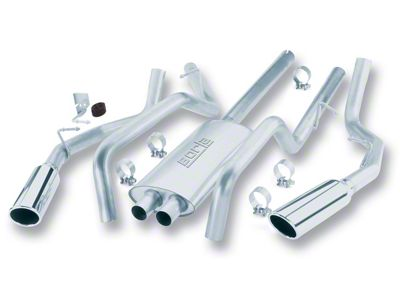 Borla Touring Dual Exhaust System - Rear Exit (01-03 4.6L F-150)