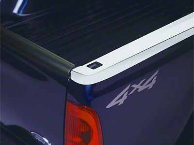 Putco Bed Rail Skin w/ Pocket Holes - Stainless (04-08 F-150 Styleside)