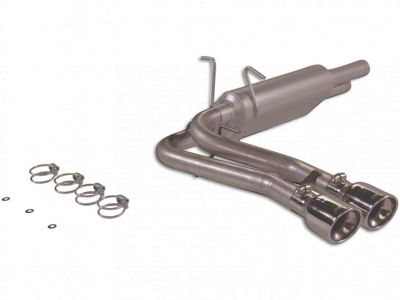 Flowmaster American Thunder Dual Exhaust System - Middle Side Exit (99-03 F-150 Lightning)