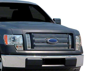 Q Upper Overlay Grilles - Polished (09-12 F-150 Lariat, King Ranch)