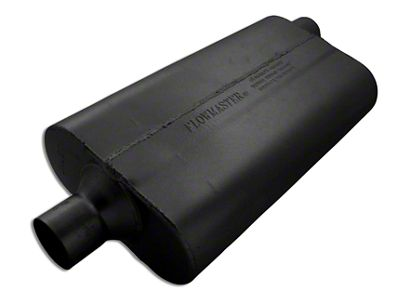 Flowmaster 50 Series Delta Flow Center/Offset Oval Muffler - 2.25 in. (Universal Fitment)