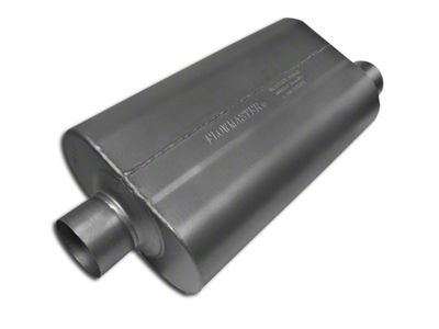 Flowmaster Super 50 Series Center/Offset Oval Muffler - 3.0 in. (Universal Fitment)
