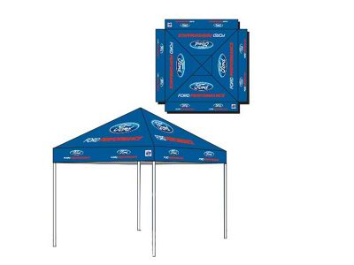 Ford Performance E-Z Up Tent - 10 ft. x 10 ft.