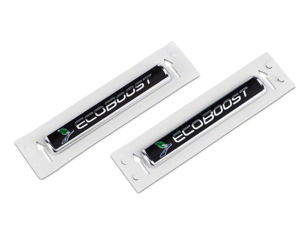 Ford Performance EcoBoost Emblem - Black (11-19 2.7L/3.5L EcoBoost F-150)