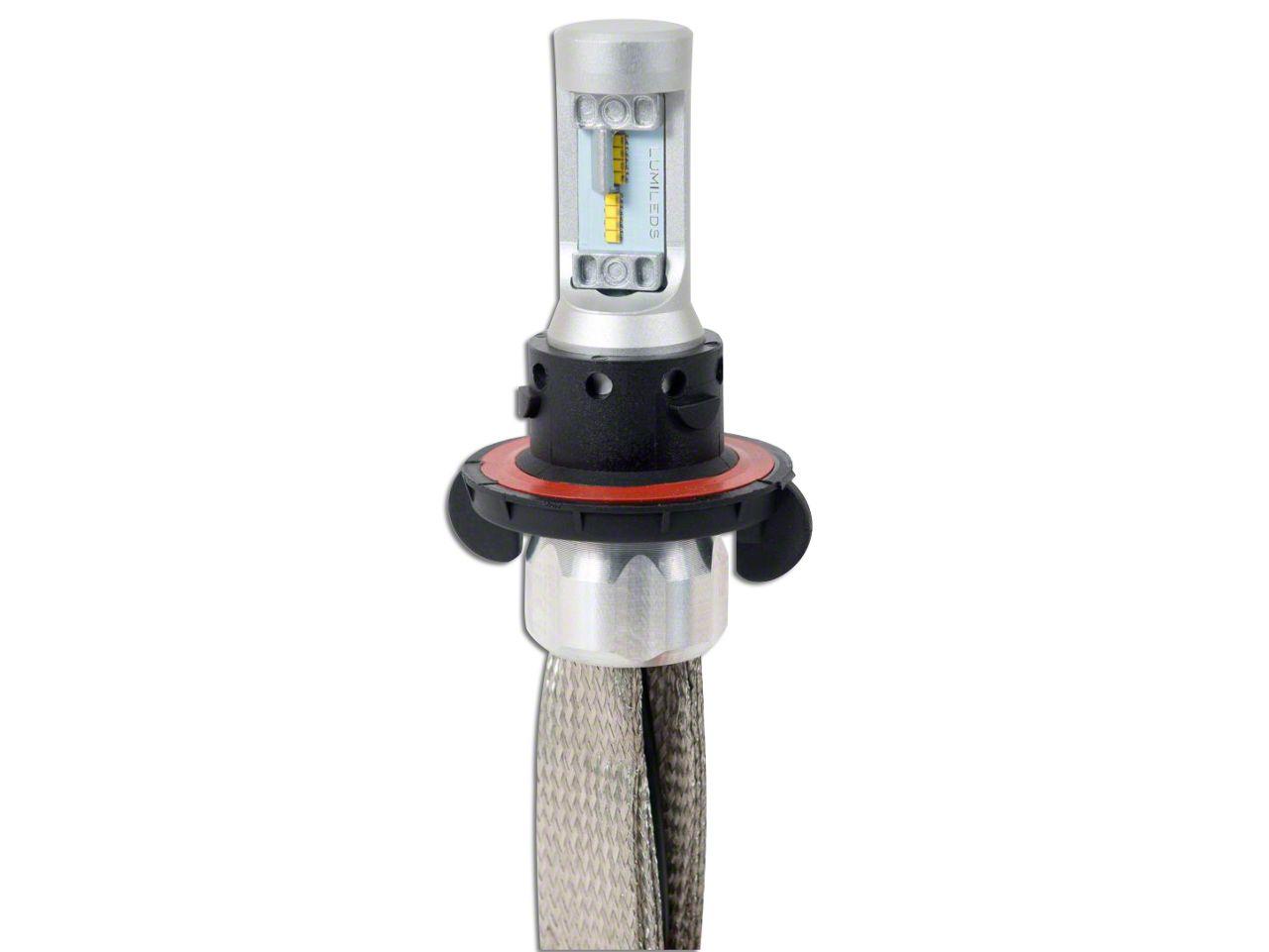 Putco Silver-Lux LED Low Beam Bulbs - H13 (04-08 F-150; 09-14 F-150 w/ Halogen Headlights)