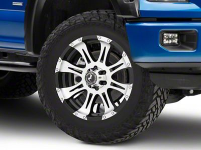Raceline Raptor Black Machined 6-Lug Wheel - 20x9 (04-18 F-150)