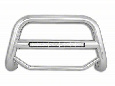Black Horse Off Road Max Beacon LED Bull Bar - Stainless Steel (97-03 F-150)