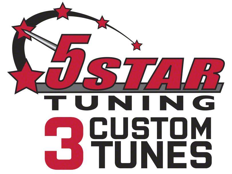 5 Star 3 Custom Tunes (2010 5.4L F-150 Raptor)