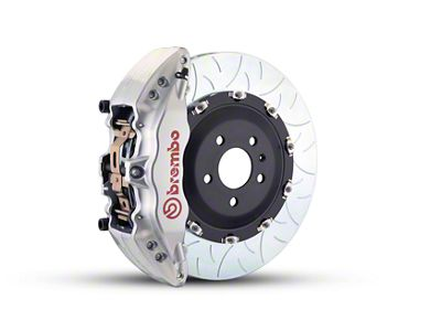 Brembo GT Series 6-Piston Front Brake Kit - Type 3 Rotors - Silver (10-14 F-150 Raptor)