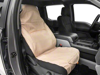 Kurgo Co-Pilot Bucket Seat Cover - Hampton Sand (97-19 F-150)