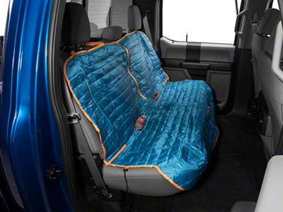 Kurgo Loft Rear Bench Seat Cover - Coastal Blue/Charcoal (97-19 F-150 SuperCab, SuperCrew)