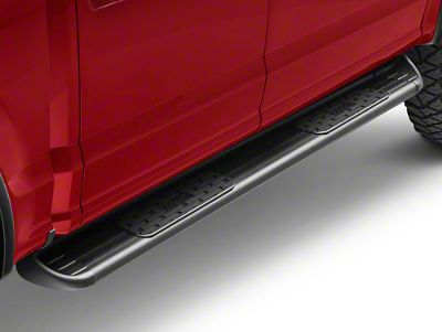 Raptor Series 7 in. SSR Stainless Steel Running Boards - Textured Black (15-18 F-150 SuperCab, SuperCrew)