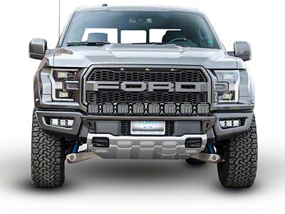 N-Fab Radius Light Bar Multi-Mount System - Textured Black (17-18 F-150 Raptor)