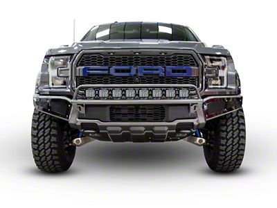 N-Fab Radius Off-Road Light Bar Multi-Mount System - Gloss Black (17-18 F-150 Raptor)