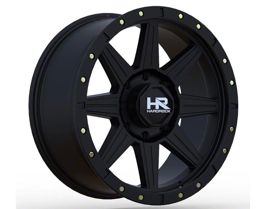 Hardrock Offroad H100 Matte Black 6-Lug Wheel - 17x8.5 (04-19 F-150)