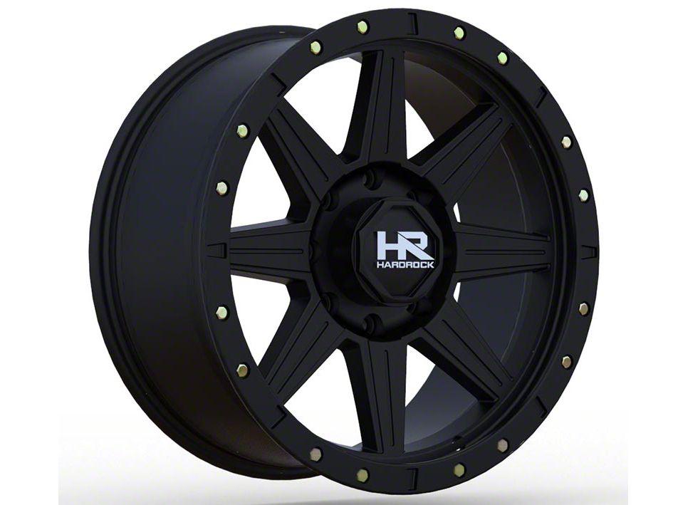 Hardrock Offroad H100 Matte Black 6-Lug Wheel - 18x9 (04-19 F-150)