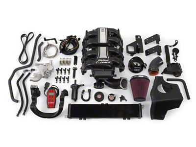 Edelbrock E-Force Stage 1 Street Supercharger Kit (04-08 2WD 5.4L F-150)
