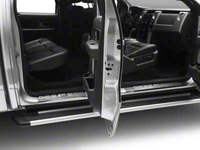 Stainless Steel Front & Rear Door Sill Plates (09-14 F-150 SuperCrew)