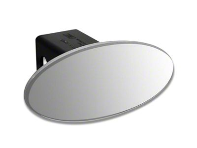 Defenderworx 3.5 in. Oval Hitch Cover - Brushed (97-19 F-150)