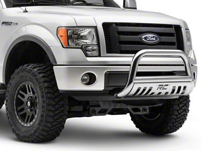 Rough Country Bull Bar - Polished Stainless (04-19 F-150, Excluding Raptor)