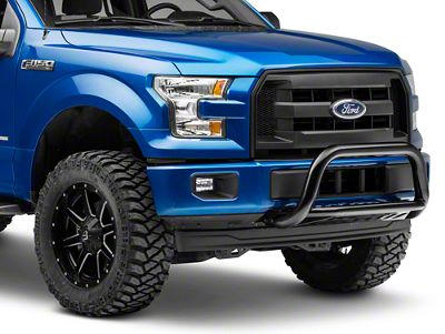 Rough Country Bull Bar - Black (11-19 2.7L/3.5L EcoBoost F-150, Excluding Raptor)