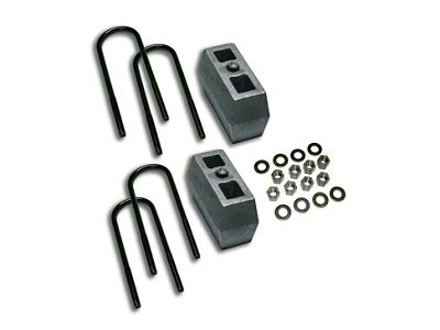 SuperLift 4 in. Rear Lift Block Kit (97-03 4WD F-150)